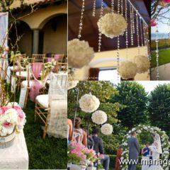 Des accessoires originaux pour votre décoration de mariage vintage