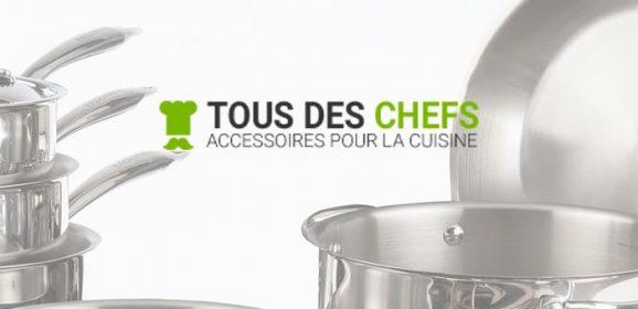 Site de vente d'accessoires et de matériel de cuisine